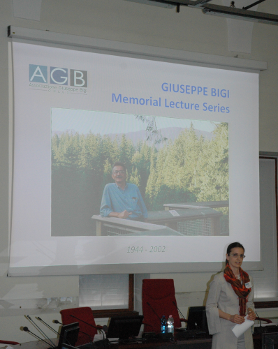 Giuseppe Bigi Memorial Lecture 2013