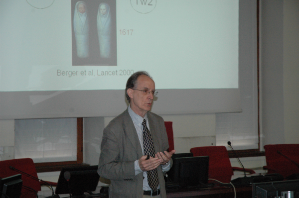 Il Prof. Mel Greaves