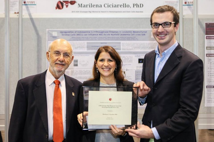Giuseppe Bigi Memorial Award 2015