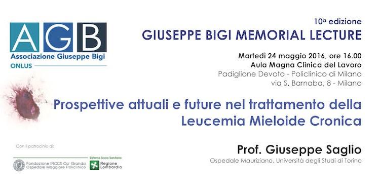 Giuseppe Bigi Memorial Lecture 2016